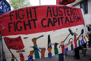 UK - Demonstration - Protestors march against NHS reform and proposed funding cuts
