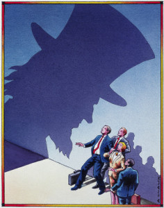 Uncle Sam's Shadow