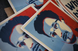 Protest in Solidarity of Edward Snowden