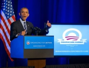 "USA - President Obama addresses Organizing for Action ""Obamacare Summit"""
