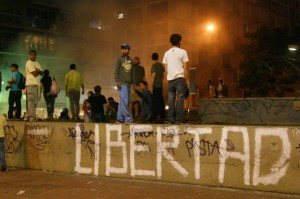 Student protesters continue to clash with National Guard in Venezuela