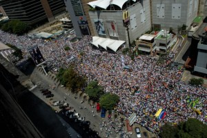 Venezuelan march for peace ends with 25 injured