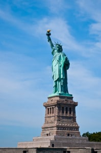 The statue of Liberty in USA. Image by © Dreamstime