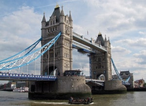 Historic Tower Bridge of London (England) Image by © Dreamstime