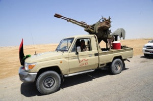 A Free Libyan Army Image by © Dreamstime