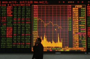 China share prices dropped 4.5%