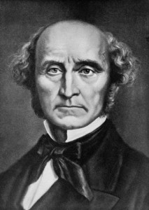 Portrait John Stuart Mill