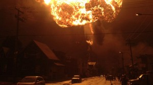 Lac Megantic crude oil train explosion in Quebec
