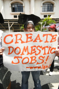Philippines - Protest - Job security