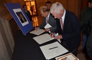 Memorial for Ambassador Christopher Stevens at San Francisco City Hall
