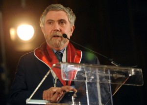 Nobel Laureate Paul Krugman gets honorary degree and advises Portugal