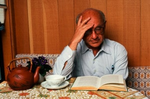 Economist Milton Friedman Reading