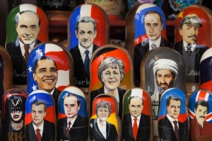 Modern Russian dolls for sale, Russia, Europe