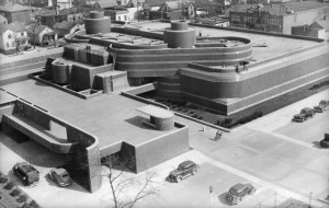 Aerial View Of Johnson Wax Co.