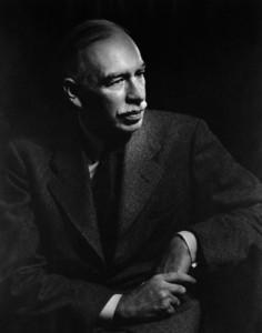 British Economist and Financier John Maynard Keynes