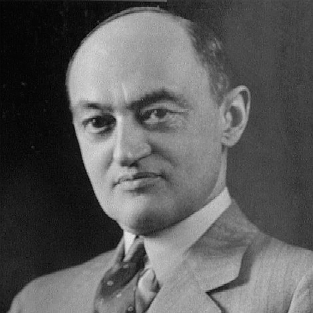 Joseph Schumpeter • schumpeter portrait