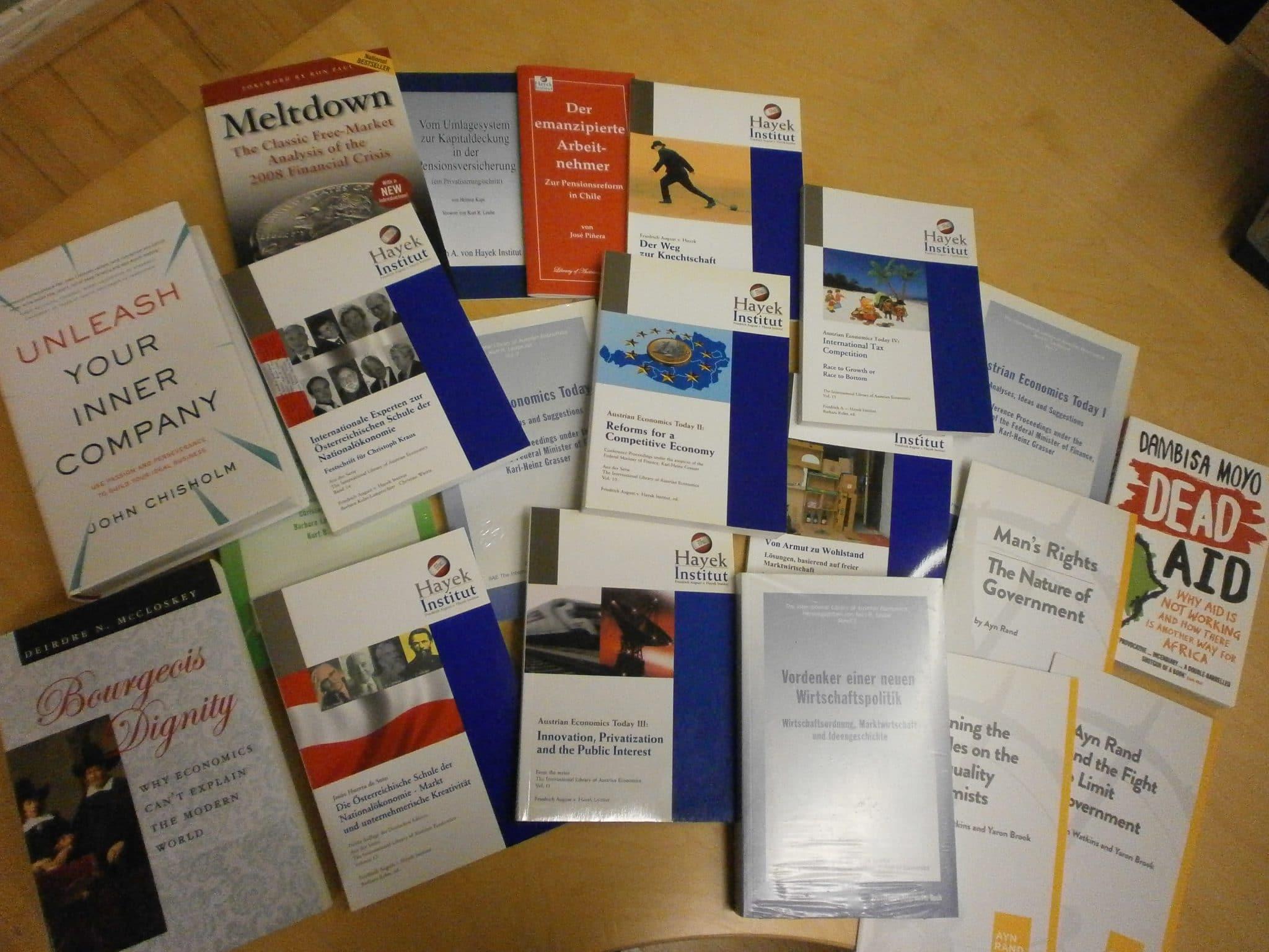 Hayek Institut Publikationen
